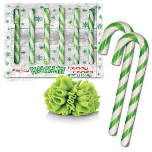 Wasabi Candy Canes - 1