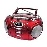 "Tamashi DX B18R CD-/MP3-Radiorekorder (Kassettendeck ,USB 2.0) rotvon ""Tamashi"""