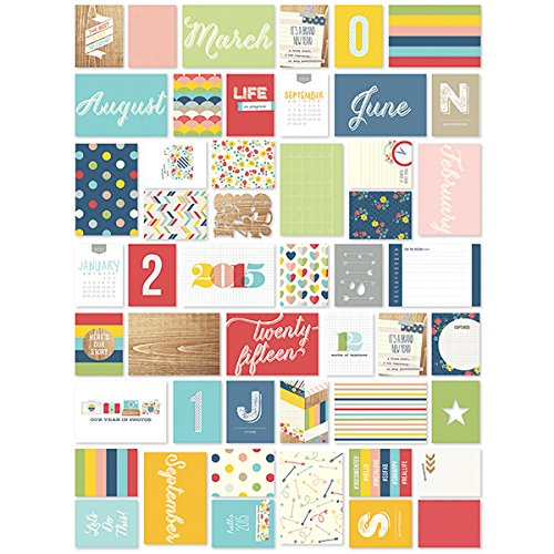 Simple Stories Snap Life Documented 2015 Cards (152 Pack) - 1