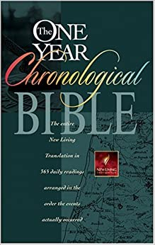 The One Year Chronological Bible Nlt Tyndale border=