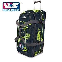 Buy High Sierra 32 Expandable Wheeled Duffle (Rusty Circuits, U.S. Snowboarding by High Sierra