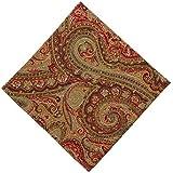 Ralph Lauren Lauren Fenton Paisley Rust Cloth Napkins (Set of 4)