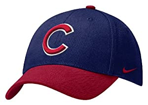 Chicago Cubs Royal/Red Nike Wool Classic Cap