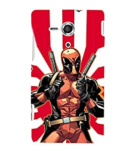 Ebby Premium Printed Mobile Back Case Cover With Full protection For Sony Xperia SP (Designer Case)
