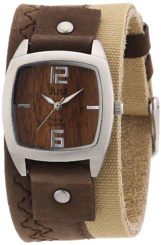 Just Watches 48-S10630-BR - Orologio da polso donna, pelle, colore: multicolore