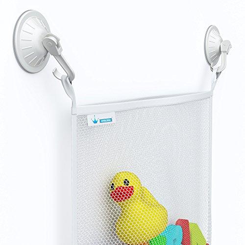 Bath toy organizer bathroom accessories for baby kids for Bathroom accessories organizer