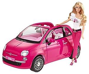 Amazon.com: Barbie Fiat Vehicle: Toys & Games