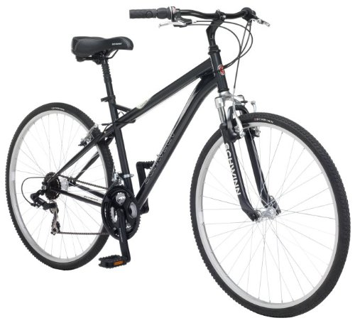 NEW Schwinn Bicycles Network 1.0 700C Men's Bicycle Hybrid Comfort Bike Charcoal