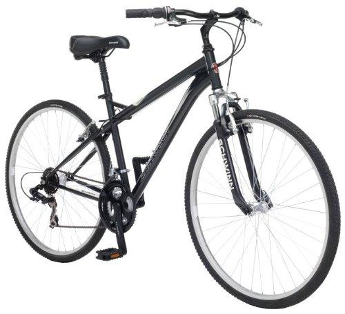 NEW Schwinn Bicycles Network 1.0 700C Men's Bicycle Hybrid Comfort Bike Charcoal