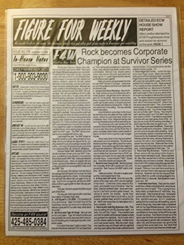 FIGURE FOUR WEEKLY NOV 21, 1998 ROCK BECOMES CORPORATE CHAMPION EX (Figure Four Weekly compare prices)