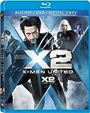 X-Men 2 Blu Ray + Dvd + Digital Copy [Blu-ray]
