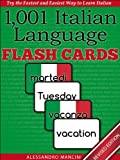 img - for 1,001+ Italian Language Flash Cards: Fastest Way to Get Started in Italian [Revised Edition] (Learn to Speak...Series) book / textbook / text book