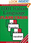 1,001+ Italian Language Flash Cards:...