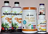Isagenix Cleansing and Fat Burning System - 9 Day Program Vanilla Flavor by isagenix 9 day