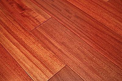 "Kingsport Santos Mahogany Classic 3/8"" x 3-1/2"" Exotic Engineered Hardwood Flooring AF050 SAMPLE"