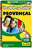 Vocabulary Builder Provençal: Language fun for all the family - All Ages (PC/Mac)