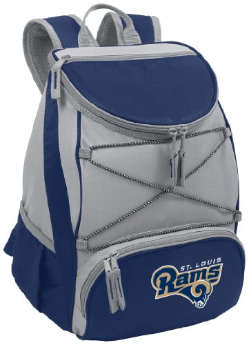 NFL St. Louis Rams PTX Insulated Backpack Cooler, Navy from Picnic Time