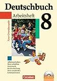 Günther Biermann Deutschbuch 8. Schuljahr. Arbeitsheft mit Lösungen: Sprach- und Lesebuch