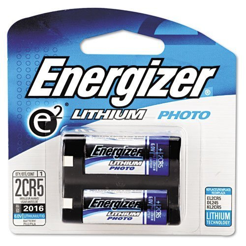 Energizer : E2 Lithium Photo Battery 2CR5 6Volt -:- Sold As 2 Packs Of - 1 - / - Total Of 2 Each