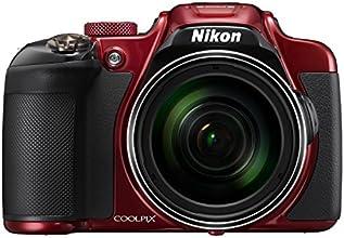 """Nikon Coolpix P610 Appareil photo numérique compact 16 Mpix Écran LCD 3"""" Zoom optique 60X Rouge"""
