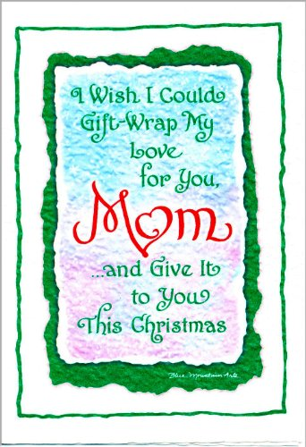 Blue Mountain Arts Greeting Card Christmas I