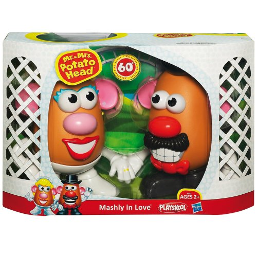 Playskool 60th Anniversary Edition Mr And Mrs Potato Head Mashly In Love Toy Picture