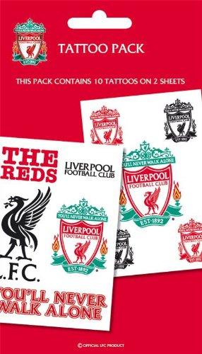 Liverpool F.C. Liverpool FC Tattoo Pack