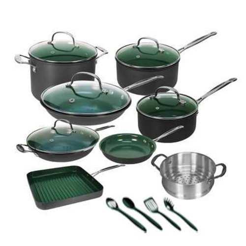 Orgreenic 80-16PCG 16-Piece Non-Stick Cookware
