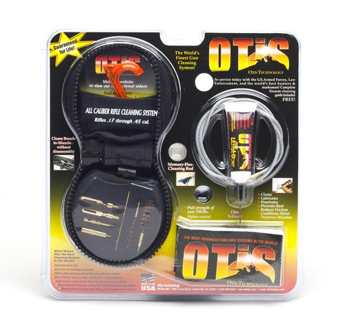 Otis All-Caliber Rifle Cleaning System from Otis Technology