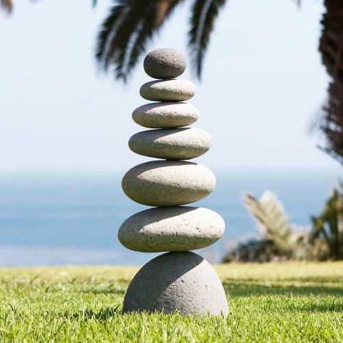 7 U3web Cheap Price Medium Giant Rock Cairn 22 Inspirational Zen