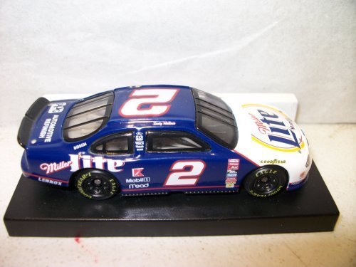 1999-action-racing-rusty-wallace-miller-lite-2-ford-taurus-limited-edition-die-cast-cars-164-by-nasc