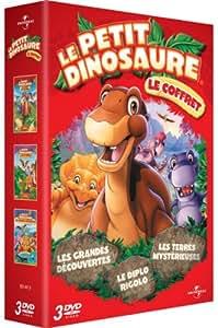 Petit Dinosaure - Le coffret série - Vol. 3, 4 et 5 (Les terres mystérieuses, Le Diplo rigolo, les grandes découvertes)
