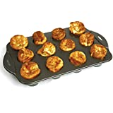 Norpro 3971 Nonstick Mini Popover Pan, 12 Count