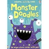 Monster Doodles (Usborne Activity Cards)by Fiona Watt