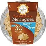 Krunchy Melts' Sugar Free Meringue Cookies 2 oz Tub (12 Pack) (Dulce de Leche)