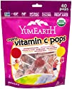 YumEarth Organic Vitamin C Lollipops,…