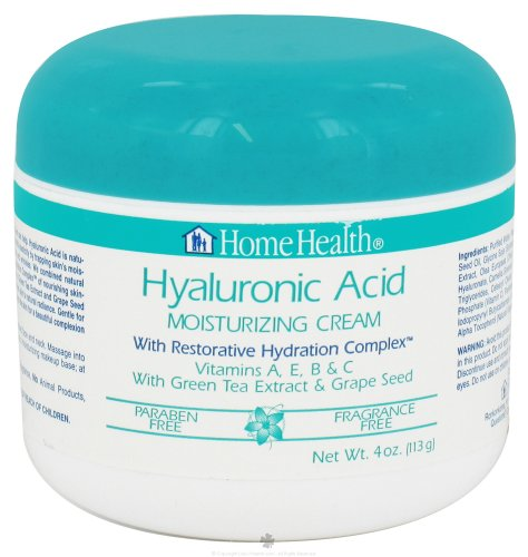Home Health Moisturizing Cream, Hyaluronic Acid,
