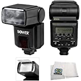 Professional TTL Power, Zoom & 270 Degree Swivel D-SLR Flash For The Panasonic LUMIX DMC-FZ200K, DMC-FZ1000, DMC-FZ70, DMC-GX7, DMC-FZ100, DMW-FZ150, DMC-FZ30, DMC-GH4, DMC-GH3, DMC-GH2, DMC-GH1, DMC-GX1, DMC-LX7, DMC-LX5, DMC-LX3, DMC-GF6, DMC-GF2, DMC-G6, DMC-G5, DMC-G3, DMC-G2 & DMC-G1 Digital Cameras which includes 1 Wide Angle Diffuser, 1 Bounce Reflector & Microfiber Cleaning Cloth