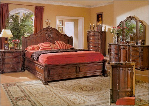 Huntington California King Size Bed Set