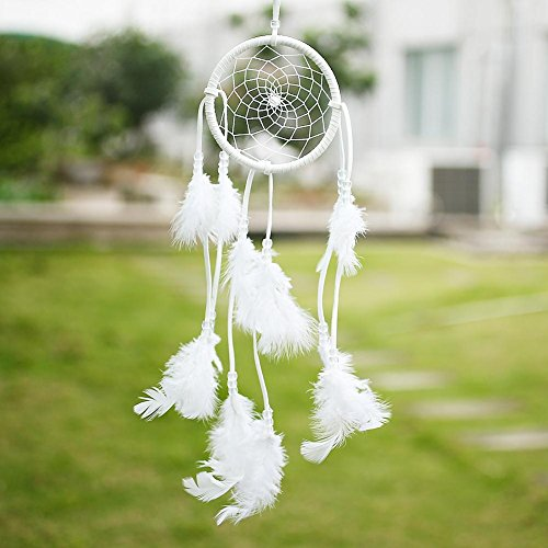 Soledi Dream Catcher Handmade Circular Net With feathers Wall Hanging Decoration Decor Ornament Craft Gift New