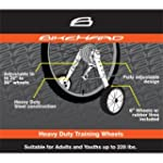 BikeHard Heavy Duty Adjustable Traini...