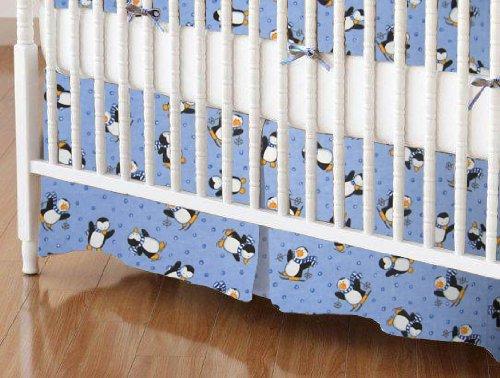 Penguin Flannel Sheets