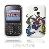 LOVE MY CASE / Samsung Galaxy Chat 335 / S3350 / Stylish Multi Coloured Butterfly Gel case / NEW