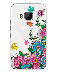 WEB9T9 Htc One M9back cover Designer High Quality Premium Matte Finish 3D Case