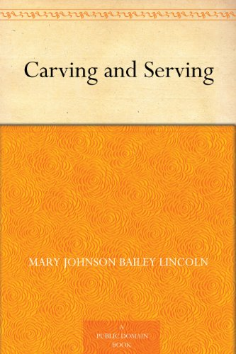 Carving and Serving PDF