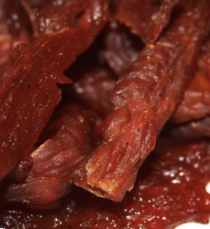 Bulk Beef Jerky's Honey BBQ Smoked Turkey Jerky - 1 Lb Jar