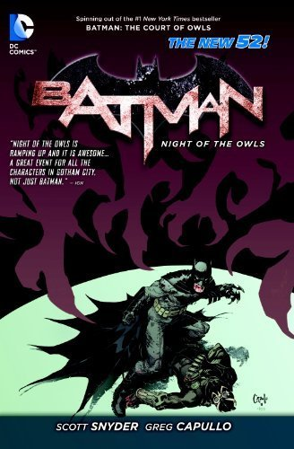 Batman Night of the Owls TP (The New 52) (Batman (DC Comics)) by Scott Snyder (2013-11-21)