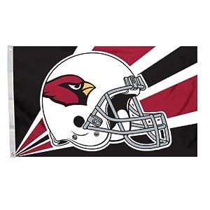 NFL Arizona Cardinals 3-by-5 Foot Helmet Flag by Fremont Die