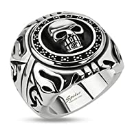 STR-0156 Stainless Steel Skull Shield…
