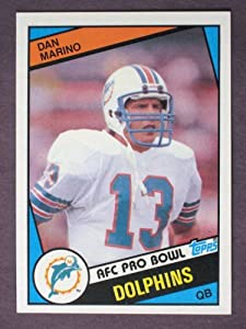 1984 Topps Football DAN MARINO, RC